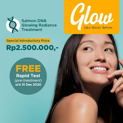 Salmon DNA Glowing Radiance Treatment