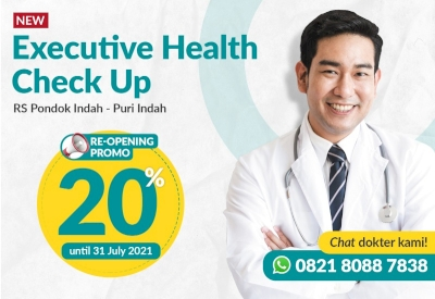 Re-Opening Promo Executive Health Check Up