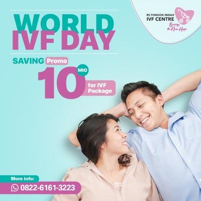 Promo Spesial World IVF Day: Hemat Hingga 10 Juta!