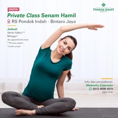 Private Class Senam Hamil