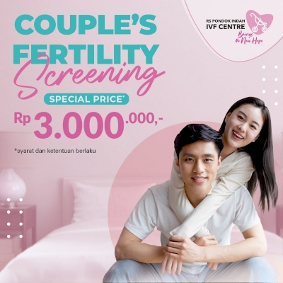 Promo Spesial Couple Fertility Screening!