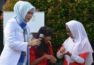CSR HUT ke-30 RS Pondok Indah Belajar Cuci Tangan, Belajar Lebih Sehat